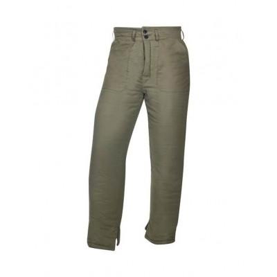 Kalhoty vatované NICOLAS K, zelené DOPRODEJ