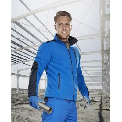Fleecová mikina 4TECH modrá