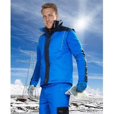 4tech 06 zimní vesta modrá