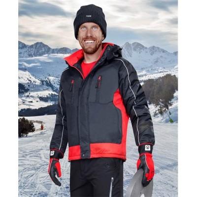 ARPAD páns. zim. bunda černo-červená