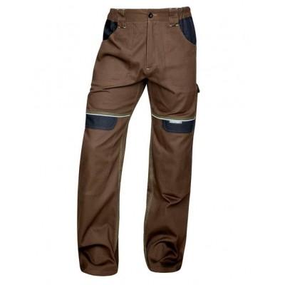 Kalhoty pas COOL TREND hnědé long (46)