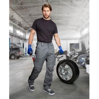 Kalhoty do pasu URBAN+ šedé