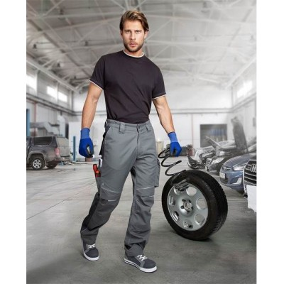 Kalhoty do pasu URBAN+ šedé zkrácené (46)