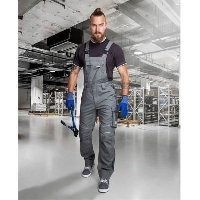 Kalhoty s laclem URBAN+ šedé zkrácené (48-50)