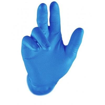 Rukavice GRIPPAZ 245 modré M 100 ks DOPRODEJ 08