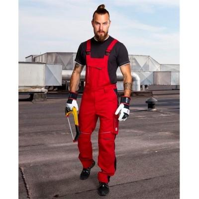 Kalhoty s laclem URBAN jasně červené prodloužené (48-50)