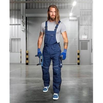 Kalhoty s laclem URBAN+ tmavě modré zkrácené (48-50)