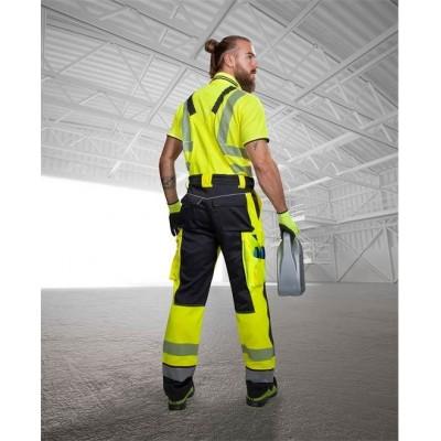 Kalhoty lacl SIGNAL žluto-černé zkrácené (46)