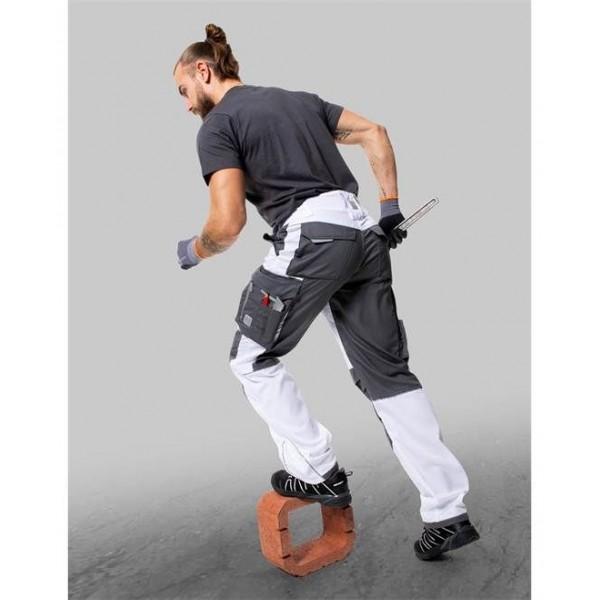 Kalhoty do pasu SUMMER bílé prodloužené (46) S